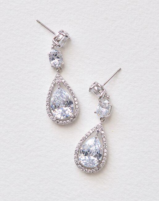 Dareth Colburn Tara CZ Earrings (JE-1189) Wedding Earrings photo