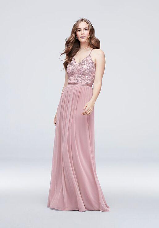 David's Bridal Collection DB STUDIO Style DS270019 V-Neck Bridesmaid Dress