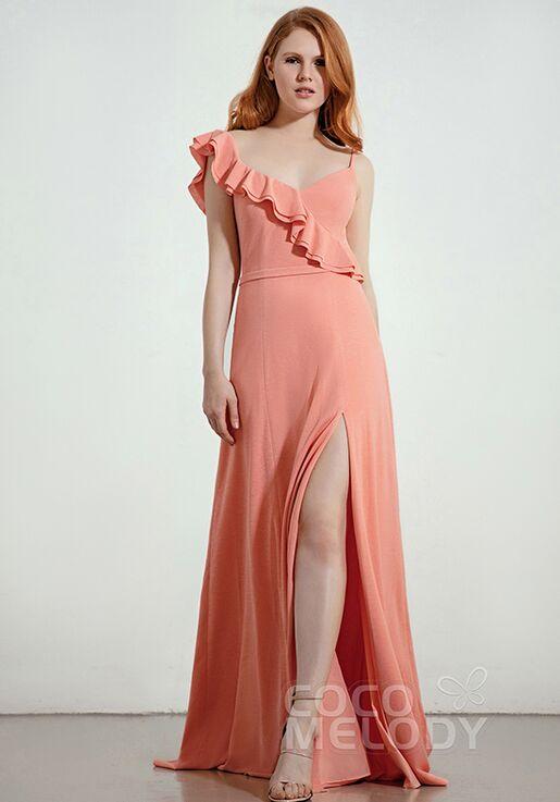 CocoMelody Bridesmaid Dresses CB0283 V-Neck Bridesmaid Dress