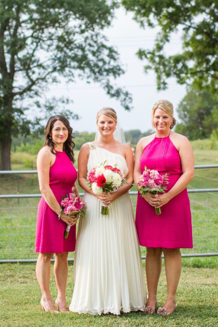 Hot Pink Bridesmaid Looks