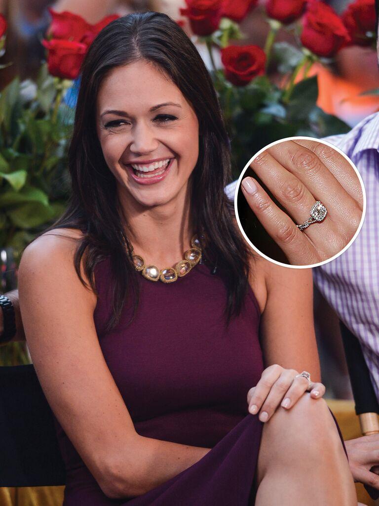 Desiree Hartsock's engagement ring