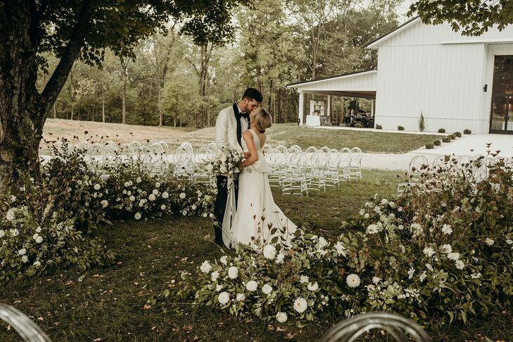 Jordan Stacy and James Coyne's wedding spoke to their sentimentality and deep love for friends and family. So much so that they their wedding took pla