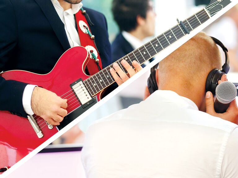 Should you have a band or dj wedding reception band and dj solutioingenieria Image collections