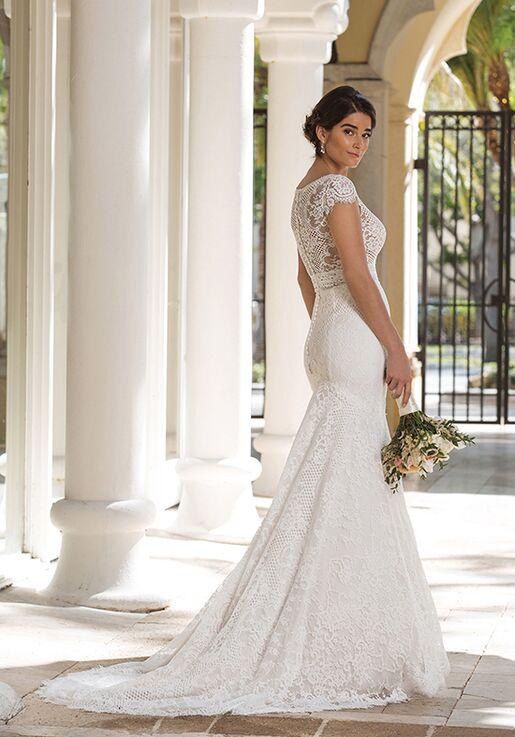Sincerity Bridal 44092 Sheath Wedding Dress