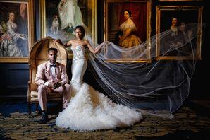 Wedding Photoshoot at the Southern Exchange Ballrooms in Atlanta, Georgia