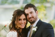 Although they love them, Elly Austin (31 and an attorney) and Jason Vecchio (31 and a sales account executive) kept the dinos at their venue from stea
