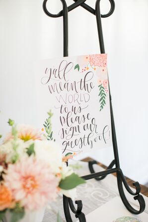 Romantic, Calligraphed Signs
