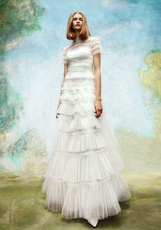 Viktor&Rolf Mariage EMBELLLISHED TULLE RUFFLE GOWN A-Line Wedding Dress