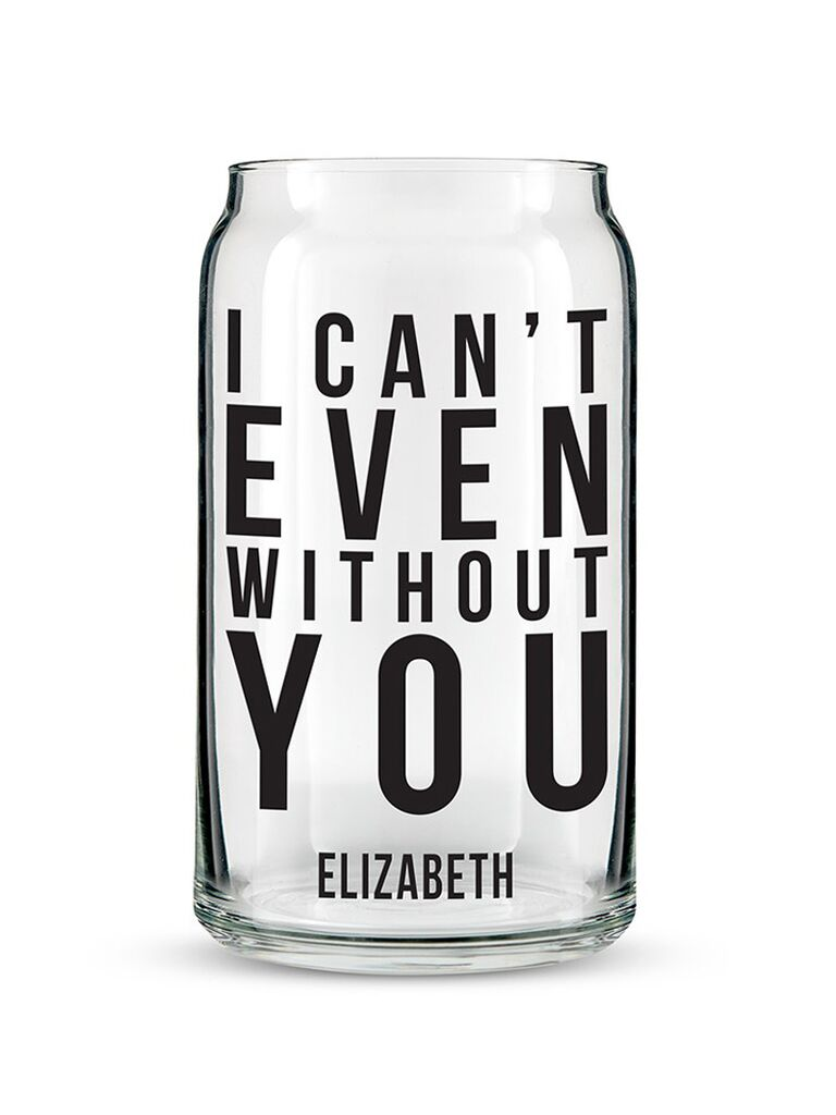 Personalized pint glass gift for sister-in-law