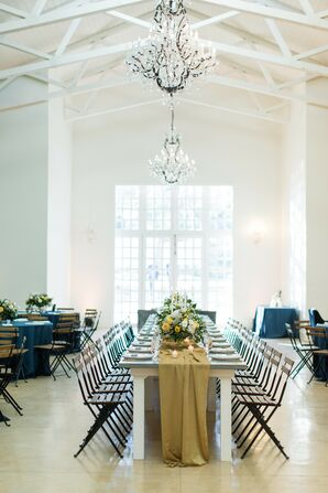 Reception Décor at The Ivory Oak in Wimberley, Texas
