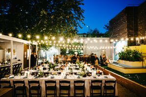 Wedding Reception at The Springs in Brooklyn, New York