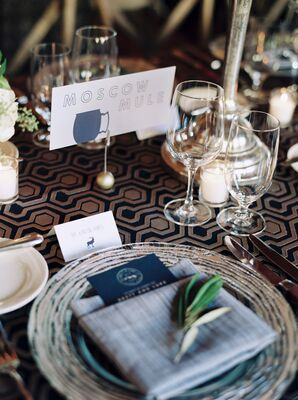 Name Tags at Every Place Setting