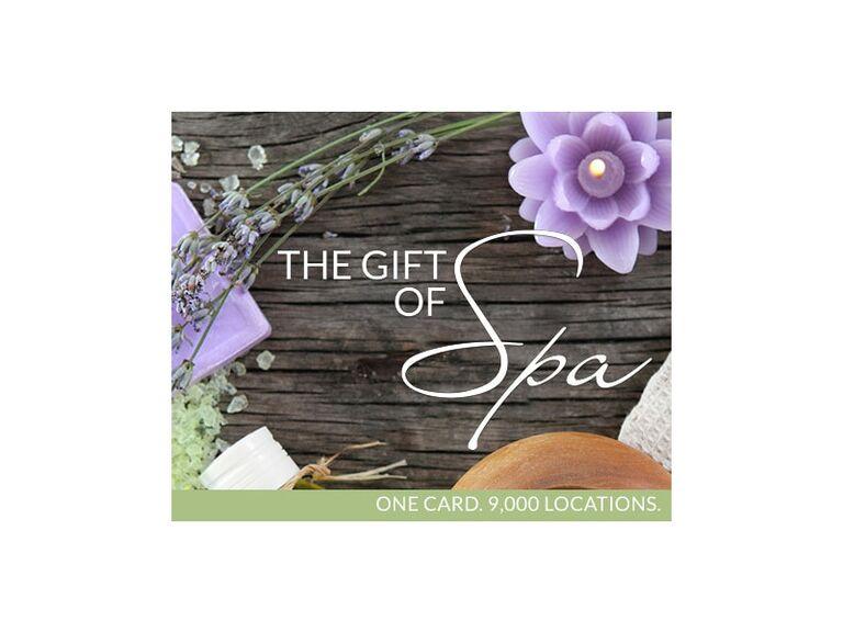 spa week gift card