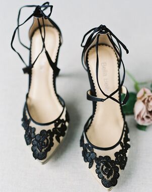 Bella Belle ANITA BLACK Black Shoe