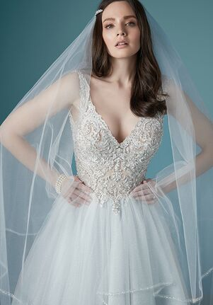 Maggie Sottero TAYLOR A-Line Wedding Dress
