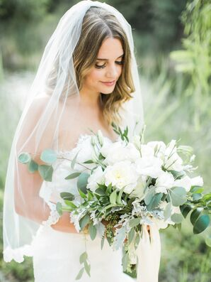 Natural Green Eucalyptus Leaf Bouquet