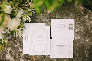 Vintage-Inspired Earthy Invitations