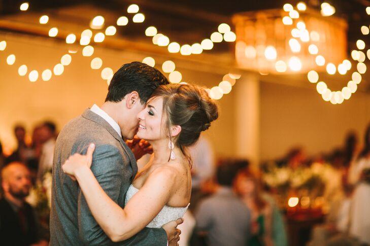 Megan and Ray First Dance at Moniker Warehouse