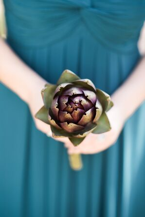 Artichoke Bridesmaid Bouquet