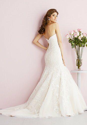 Allure Romance 2709 Mermaid Wedding Dress