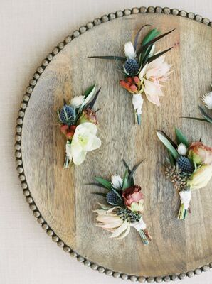 Boutonnieres for Marathon, Texas Wedding