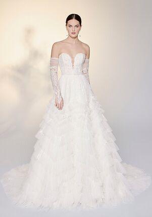 Justin Alexander Signature Mirella Ball Gown Wedding Dress