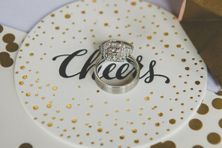 Engagement Ring Embellished in Diamonds