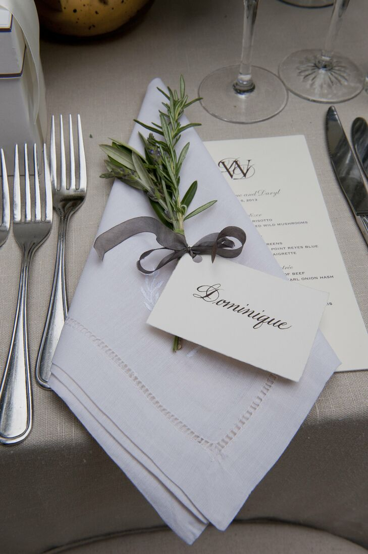 Neutral Color Place Setting