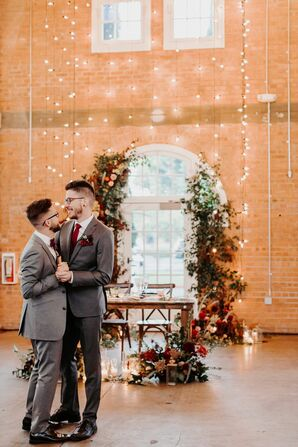 Couple Shares First Dance at Brick in San Diego, California
