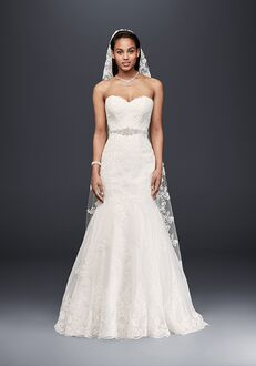 David's Bridal David's Bridal Style V3680 Mermaid Wedding Dress