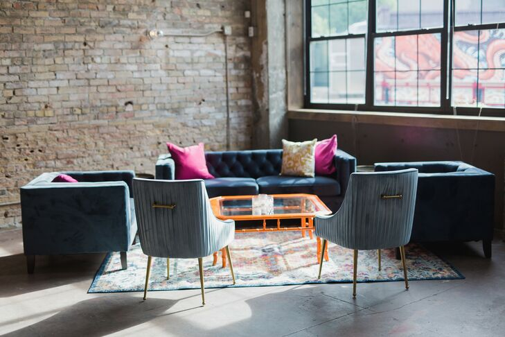 Velvet Lounge Area at Loring Social in Minneapolis, Minnesota