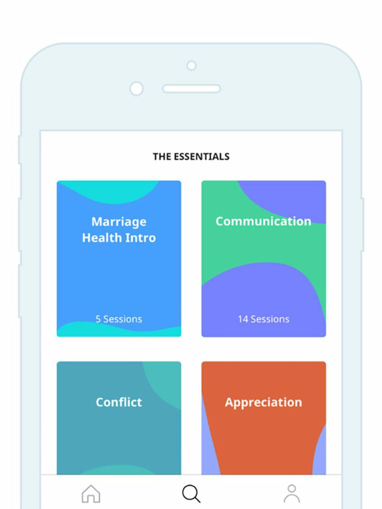 Lasting relationship counseling app