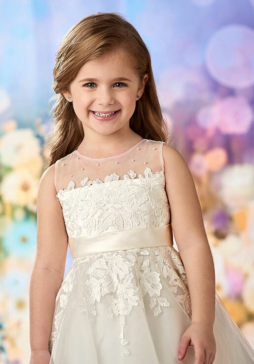 ae7427804 Joan Calabrese by Mon Cheri 218348 Flower Girl Dress | The Knot