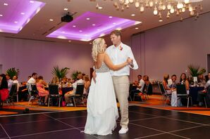 Casual Newlywed First Dance