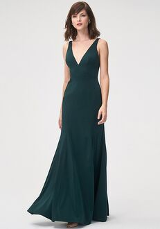 Jenny Yoo Collection (Maids) Jade V-Neck Bridesmaid Dress