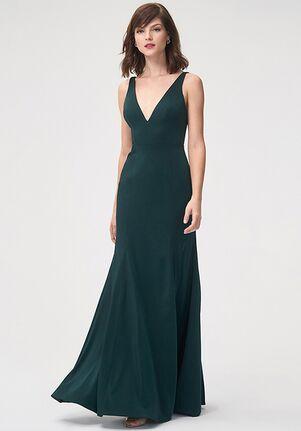 Jenny Yoo Collection (Maids) Jade V-Neck Bridesmaid Dress