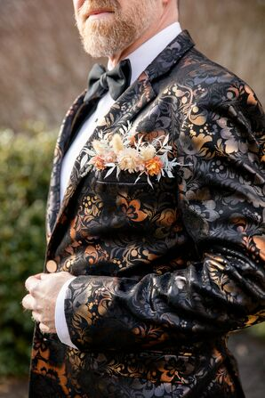 Ornate Suit Jacket for Wedding at the Everhart Museum in Scranton, Pennsylvania