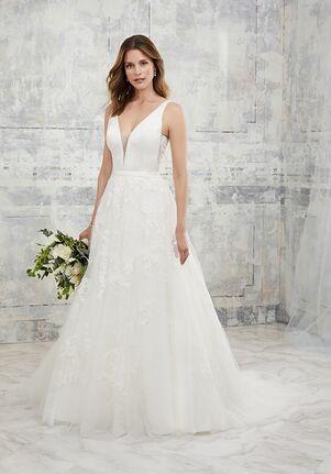 Adrianna Papell Platinum 31142 A-Line Wedding Dress
