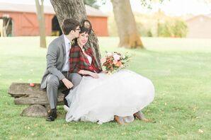 Fall Wedding at Shepherd's Hill Farm