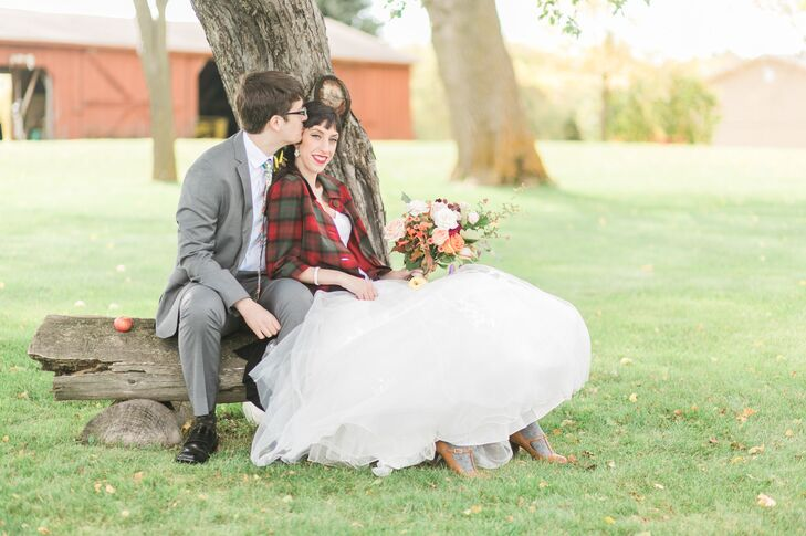 Believe it or not, a childhood game served as the inspiration behind this harvest-themed wedding in Montgomery, Minnesota, between Shaylin Lodge (27 a
