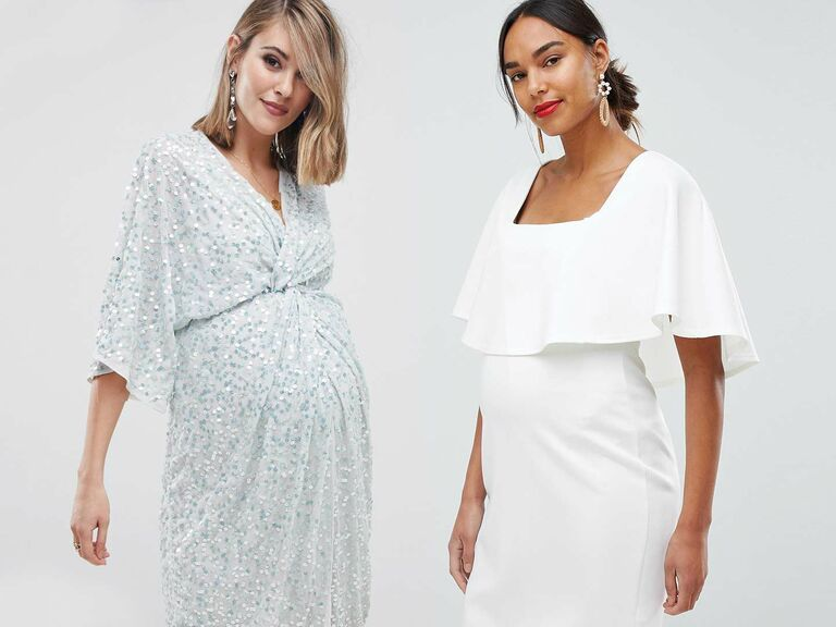 b06e23fcd11 ASOS maternity wedding dresses. Just because you re ...