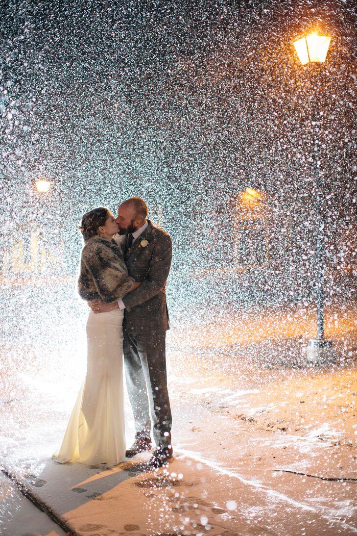Gillian and Robin Snowy Winter Wedding