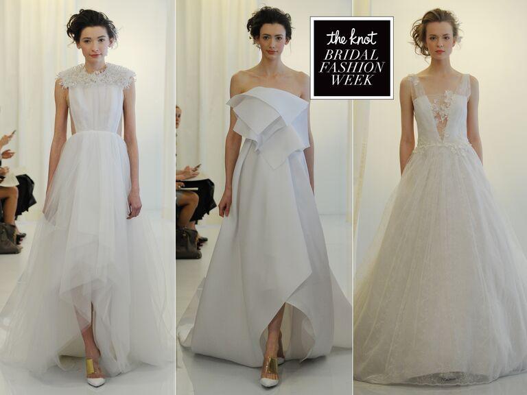 Angel Sanchez Wedding Dresses Spring 2016 Hit Bridal Fashion Week
