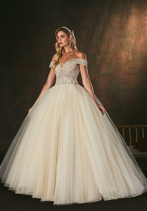 Amaré Couture C155 Emilia Ball Gown Wedding Dress
