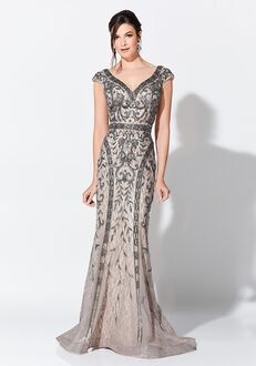 Ivonne D. 119D42 Champagne Mother Of The Bride Dress