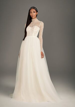 Wedding Gowns With Sleeves.Wedding Dresses The Knot