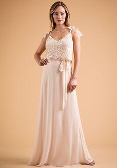 B2 Bridesmaids by Jasmine B223009 V-Neck Bridesmaid Dress