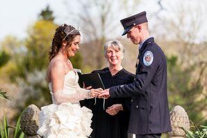 Outdoor Gramercy Mansion Ceremony