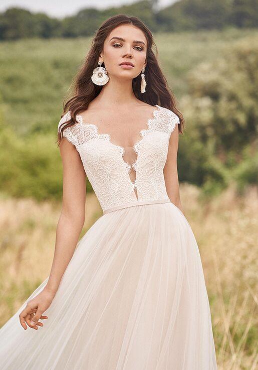 Lillian West 66139 A-Line Wedding Dress