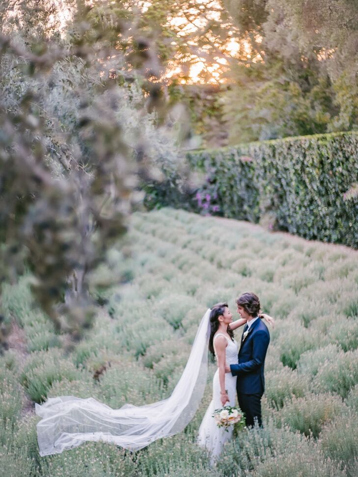 Romantic Lavender Garden First Look